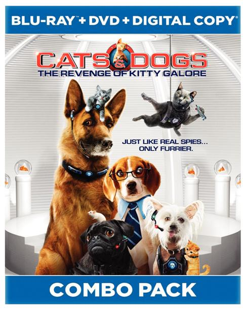 Cats and Dogs: The Revenge of Kitty Galore was released on Blu-ray and DVD on November 16th, 2010