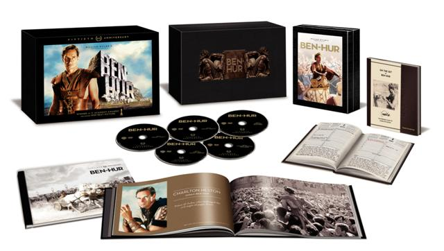 Ben-Hur: 50th Anniversary Ultimate Collector's Edition was released on Blu-ray on September 27th, 2011