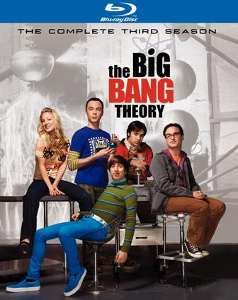 The Big Bang Theory: The Complete Third Season was released on Blu-ray and DVD on September 14th, 2010.