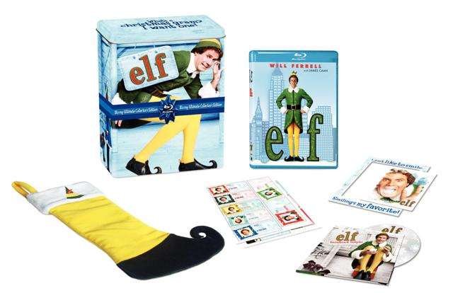 Elf: Collector's Edition was released on Blu-ray on October 26th, 2010