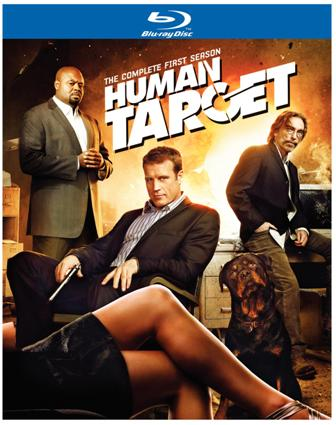 Human Target: The Complete First Season was released on Blu-ray and DVD on September 21st, 2010