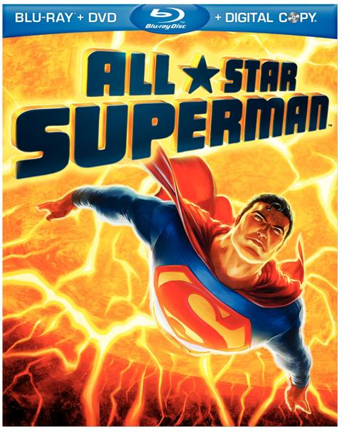 All-Star Superman was released on Blu-Ray and DVD on February 22nd. 2011