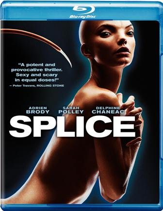 Splice was released on Blu-Ray and DVD on Oct. 5, 2010.