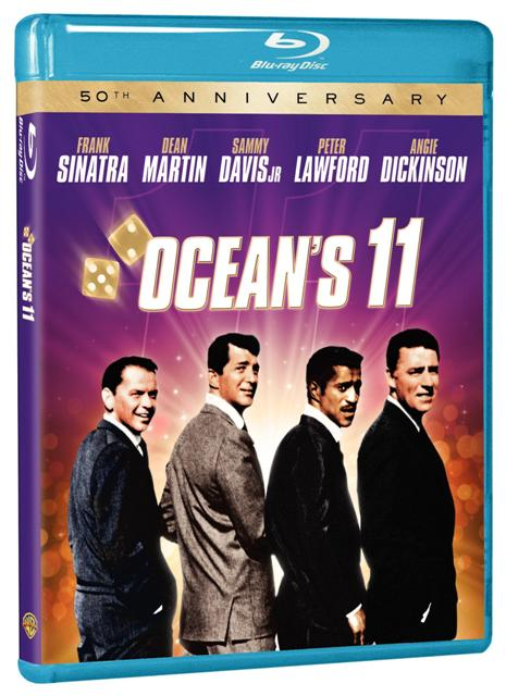 Ocean's 11 was released on Blu-ray on November 9th, 2010