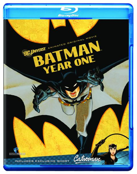 Batman: Year One was released on Blu-ray and DVD on October 18th, 2011