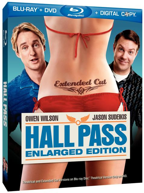 Hall Pass was released on Blu-ray and DVD on June 14th, 2011