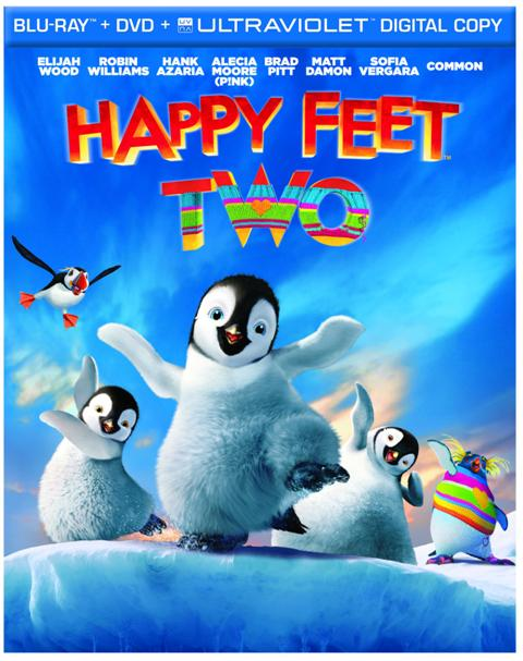 Happy Feet Two was released on Blu-ray and DVD on March 13th, 2012
