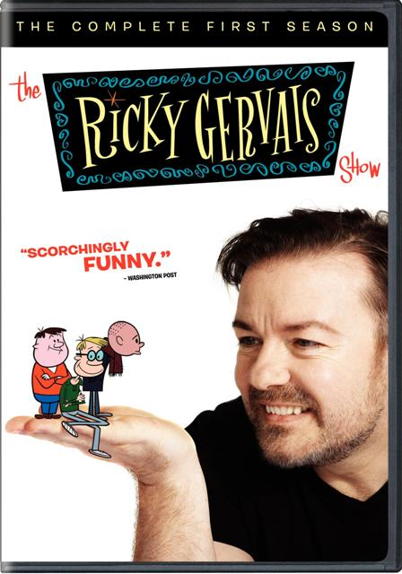 The Ricky Gervais Show: The Complete First Season was released on DVD on January 4th, 2011