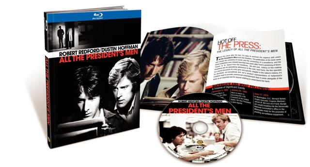 All the President's Men was released on Blu-Ray on February 15th, 2011