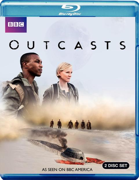 Outcasts was released on Blu-ray and DVD on August 16th, 2011
