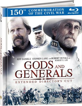 Gettysburg and Gods and Generals were released on Blu-ray on May 24th, 2011