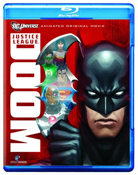 Justice League: Doom was released on Blu-ray and DVD on February 28, 2012
