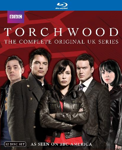 Torchwood: The Complete Original UK Series was released on Blu-ray and DVD on July 19th, 2011