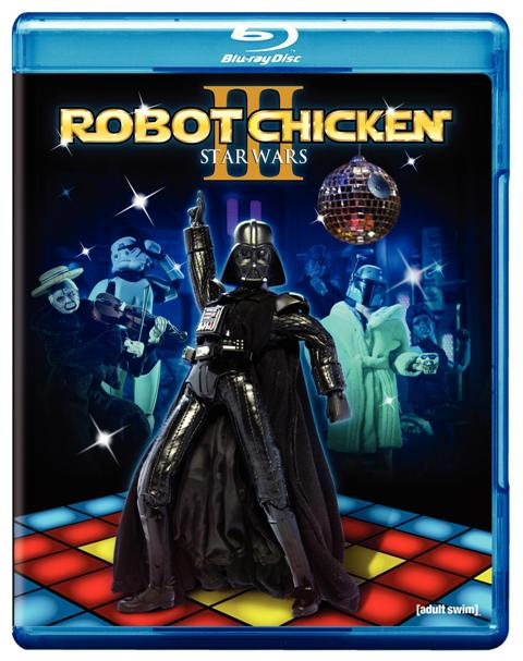 Robot Chicken: Star Wars Episode III was released on Blu-ray and DVD on July 12th, 2011