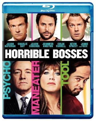 Horrible Bosses was released on Blu-ray and DVD on October 11th, 2011