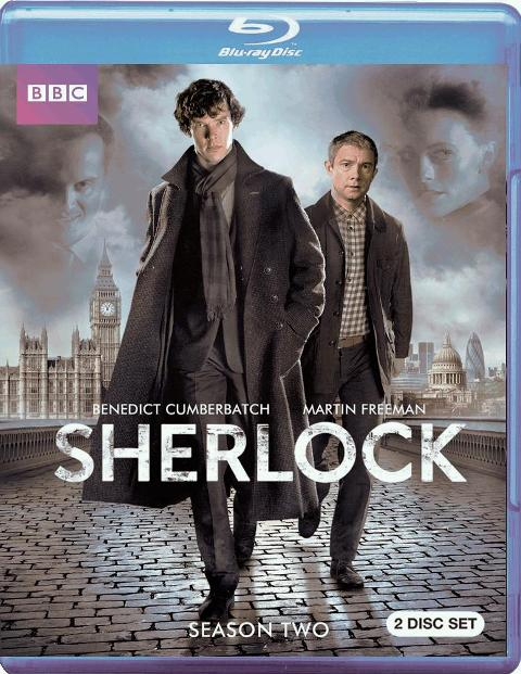Sherlock: Season Two was released on Blu-ray and DVD on May 22, 2012