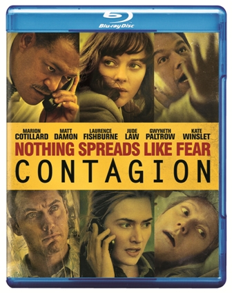 Contagion was released on Blu-ray and DVD on January 3, 2012