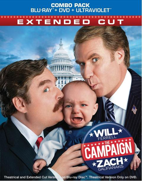 The Campaign was released on Blu-ray and DVD on October 30, 2012