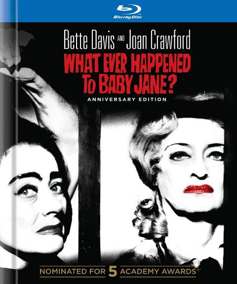 What Ever Happened to Baby Jane? was released on Blu-ray on October 9, 2012
