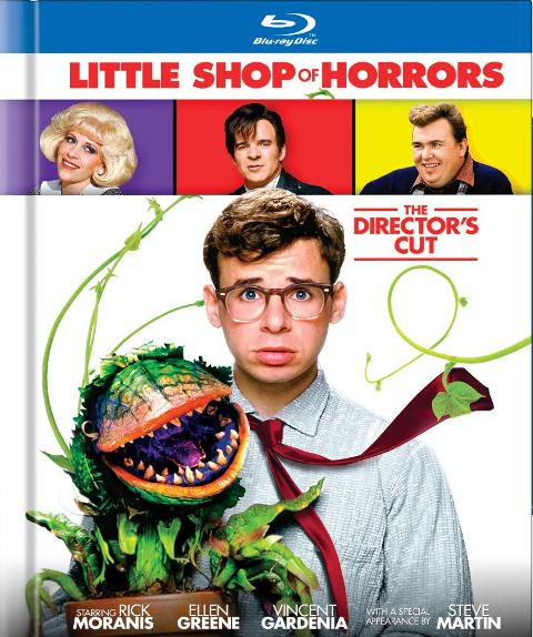 Little Shop of Horrors: The Director's Cut was released on Blu-ray on October 9, 2012