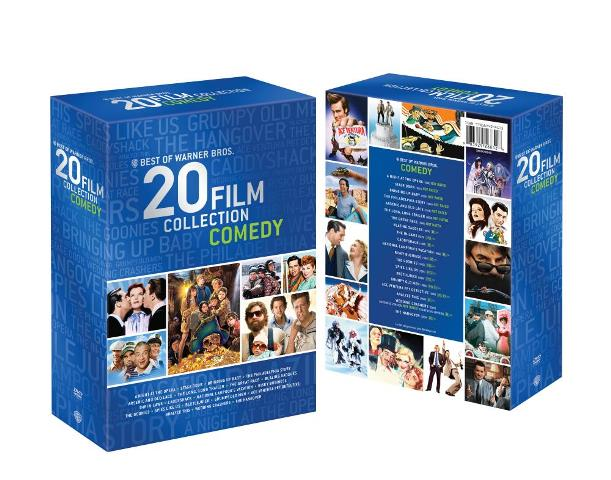 Best of Warner Bros. 20 Film Collection: Comedy was released on DVD on July 2, 2013
