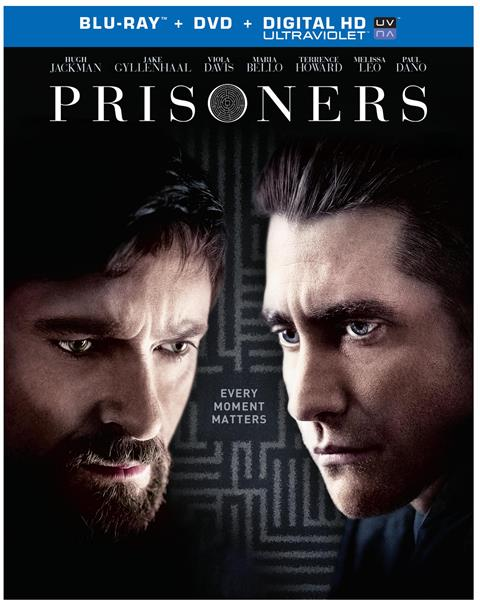 Prisoners was released on Blu-ray and DVD on December 17, 2013
