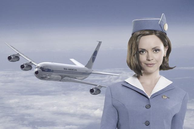 Christina Ricci stars in ABC's Pan Am.