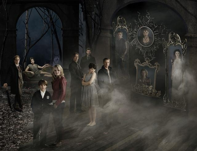 Raphael Sbarge, Lana Parrilla, Jared Gilmore, Jennifer Morrison, Robert Carlyle, Jamie Dornan, Ginnifer Goodwin and Josh Dallas star in ABC's Once Upon a Time.