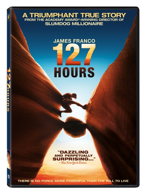 127 Hours was released on Blu-Ray and DVD on March 1st, 2011