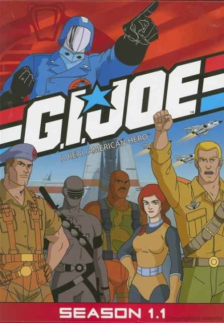 G.I. Joe: A Real American Hero: Season 1.1 was released on DVD on July 14th, 2009.