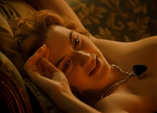 Kate Winslet stars in James Cameron's Titanic.