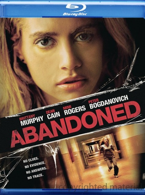 Abandoned was released on Blu-ray and DVD on August 24th, 2010