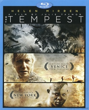 The Tempest was released on Blu-Ray and DVD on Sept. 13, 2011.