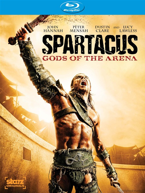 Spartacus: Gods of the Arena was released on Blu-Ray and DVD on Sept. 13, 2011.