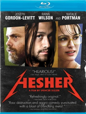 Hesher was released on Blu-Ray and DVD on Sept. 13, 2011.