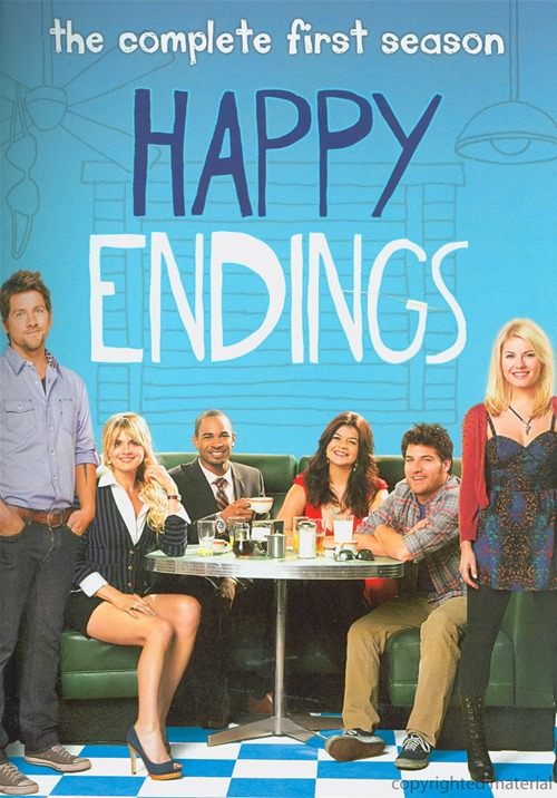 Happy Endings: The Complete First Season was released on DVD on Sept. 20, 2011.