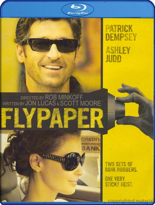 Flypaper was released on Blu-ray and DVD on Nov. 15, 2011.