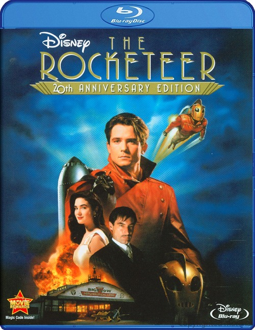 The Rocketeer was released on Blu-ray on Dec. 13, 2011.