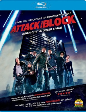 Attack the Block was released on Blu-Ray and DVD on Oct. 25, 2011.