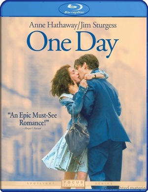 One Day was released on Blu-ray and DVD on Nov. 29, 2011.