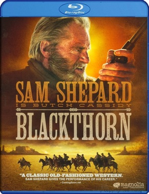 Blackthorn was released on Blu-ray and DVD on Dec. 20, 2011.