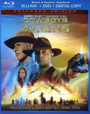 Cowboys and Aliens was released on Blu-ray and DVD on Dec. 6, 2011.