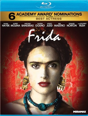 Frida was released on Blu-ray on Jan. 31, 2012.