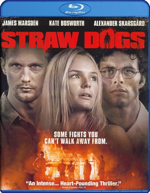 Straw Dogs was released on Blu-ray and DVD on Dec. 20, 2011.