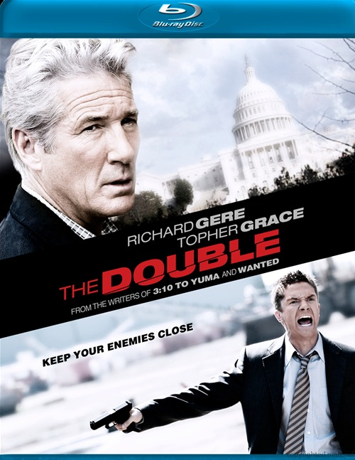 The Double was released on Blu-ray and DVD on Jan. 31, 2012.