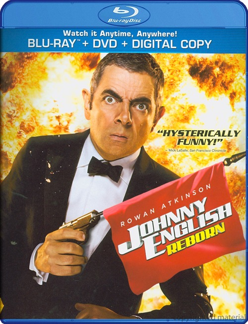 Johnny English Reborn was released on Blu-ray and DVD on Feb. 28, 2012.