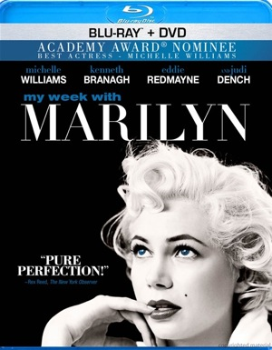 My Week with Marilyn was released on Blu-ray and DVD on March 13, 2012.