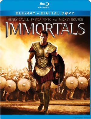 Immortals was released on Blu-ray and DVD on March 6, 2012.