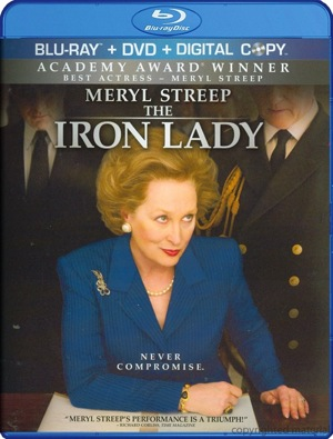 The Iron Lady was released on Blu-ray and DVD on April 10, 2012.