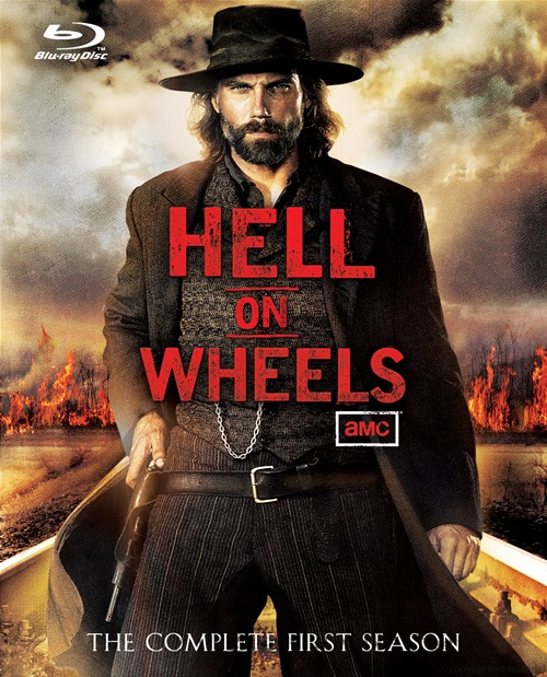 Hell on Wheels: The Complete First Season was released on Blu-ray and DVD on May 15, 2012.